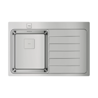 Кухонная мойка Tеkа ZENIT RS15 1B 1D R 78 2Ø AUTO WST (115100007)