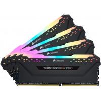 Оперативная память Corsair Vengeance RGB Pro DDR4 4x8Gb CMW32GX4M4Z3200C16