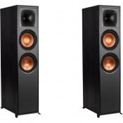 Фронтальные акустические колонки Klipsch R-820F Black
